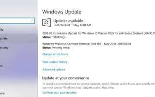 Windows 10 версия 1803 Накопительное обновление KB4103721 ОС Build 17134.48 журнал изменений