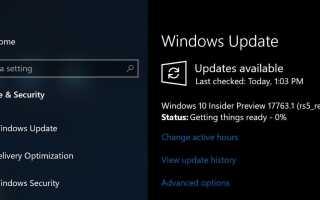 Microsoft выпустила Windows 10 Preview Build 17763.1 (rs5_release) с дополнительными исправлениями ошибок!
